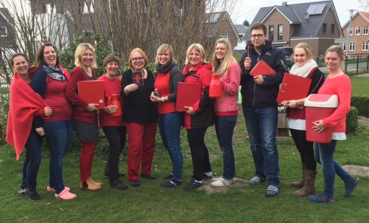 Tarifrunde ÖD 2016: Tag der Roten Klamotten