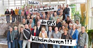 Solidarität mit der GPS Wilhelmshaven