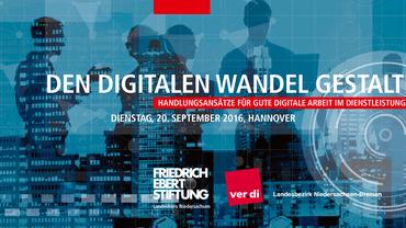 Diskussionsveranstaltung: Den digitalen Wandel gestalten!