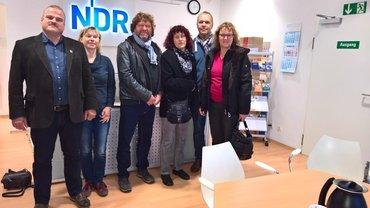 ver.di-Ortsverein Artland zu Besuch beim NDR