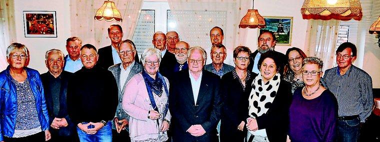 Jubilarehrung 2016 des Ortsverein Wittmund