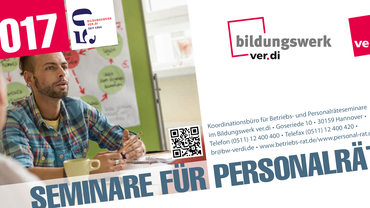 Seminare für Personalräte 2017 des ver.di Bildungswerk Niedersachsen