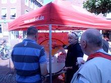 Rentenkampagne: ver.di Erwerbslose in Emden