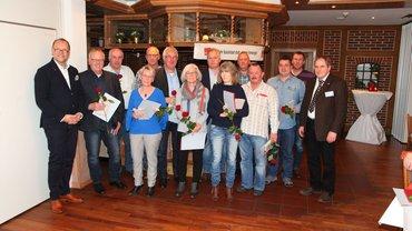Jubilarehrung 2017 des Ortsverein Emsland am 17.11.2017