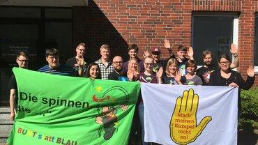 ver.di Jugend Weser-Ems neu aufgestellt mit klarem Zeichen gegen Rassismus