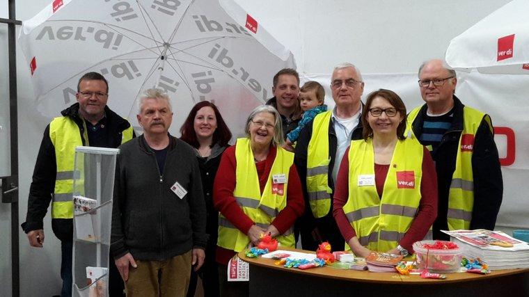 Tag der Arbeit 2018: Infostand des Orstverein Emsland
