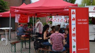 Erstes Sommerfest des DGB-Kreisverbandes Grafschaft Bentheim