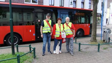 Pendleraktion in Aurich: Rente muss zum Leben reichen