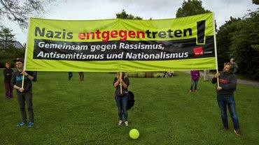 Protest gegen AfD Auftritt in Bad Iburg!