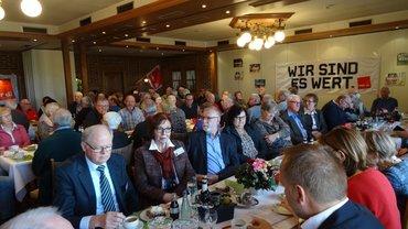 Jubilarehrung 2018 des Ortsverein Emsland am 16.11.2018 in Lehrte