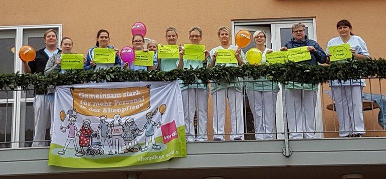 "Aktionstag ""Altenpflege"" am 21.11.2018"