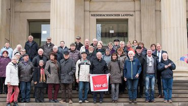 Besuch im Landtag in Hannover
