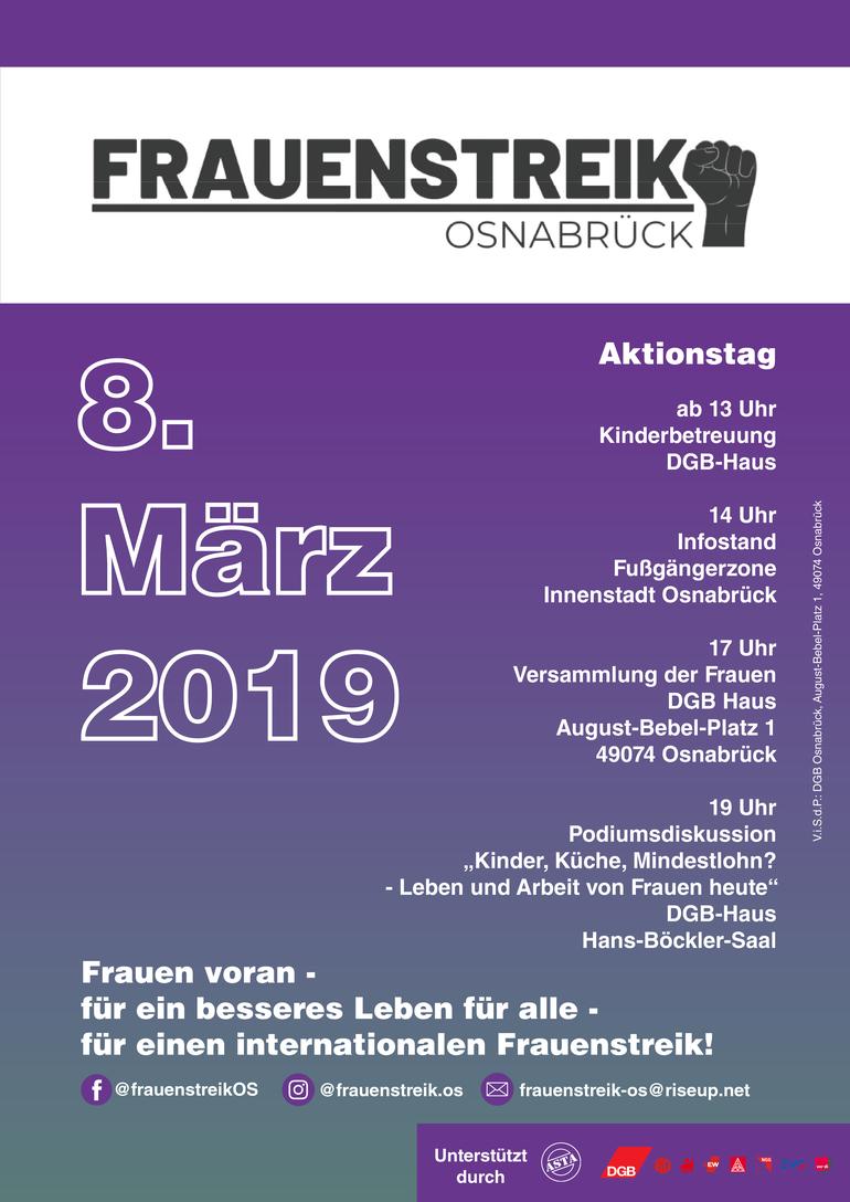 Frauenstreik Osnabrück