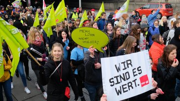 Tarifrunde ÖD der Länder 2019: Kundgebung am 20.02.2019 in Hannover