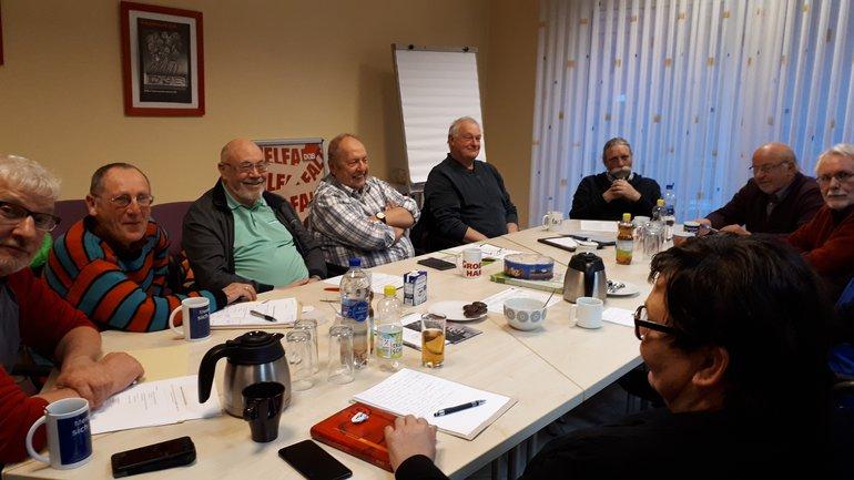 Sitzung des OV Delmenhorst mit dem BR des Krankenhauses in Delmenhorst
