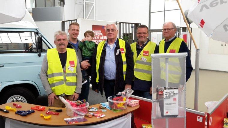 Der Tag der Arbeit 2019 in Lingen