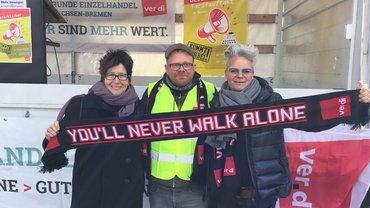 Auftaktkundgebung in Oldenburg