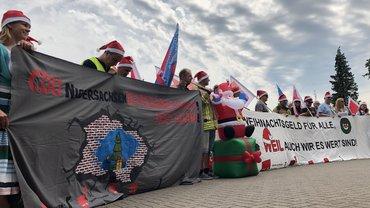 Wir wollen unser Weihnachtsgeld zurück!