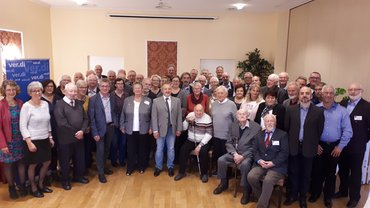 Jubilarehrung 2019 des Ortsverein Aurich-Norden-Wittmund am 26.10.2019