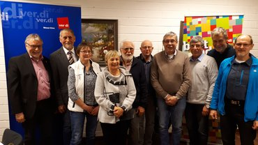 Jubilarehrung 2019 des Ortsverein Artland am 27.11.2019