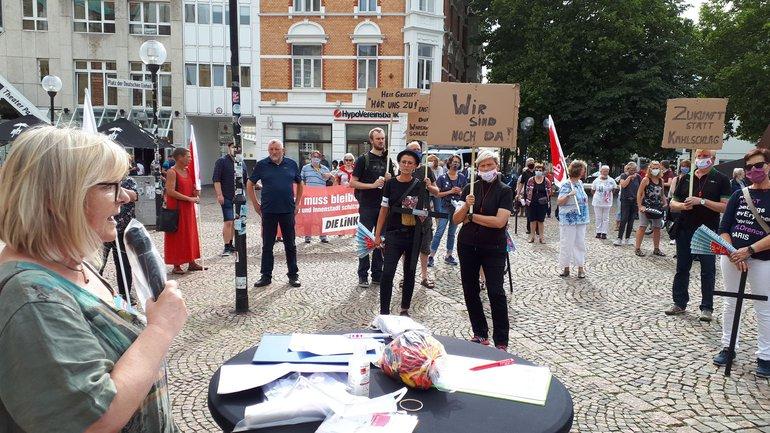 Galeria: Protestaktion am 18.07.2020 in Osnabrück
