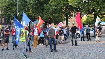 Antikriegstag 2020 am 01.09.2020 in Osnabrück