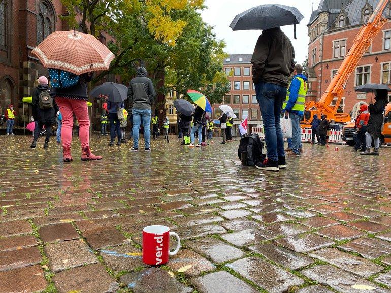 Warnstreik am 21.10.2020 in Oldenburg