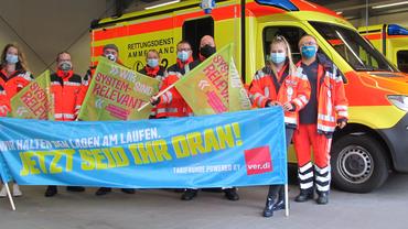 Rettungsdienstkräfte sind stinksauer