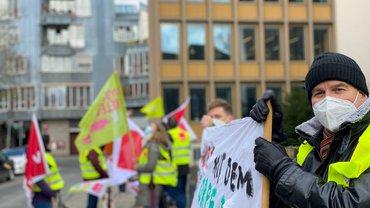 Gegen Kündigung von Betriebsrät:innen bei ORPEA