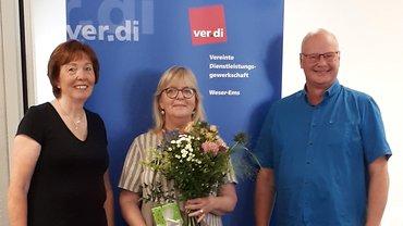 Heike Klattenhoff im Bezirksvorstand verabschiedet