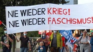 Antikriegstag 2021: Abrüstung und Demokratisierung wählen!
