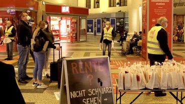 Aktionstag Rente der Gewerkschaften